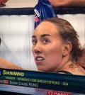 Dara Louise Rung fra Tasta vant gull i De paralympiske leker i Rio. FOTO: Skjermdump fra NRK