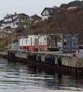 Her i området ved Tastasjøen ble den døde personen funnet fredag formiddag. FOTO: PER THIME